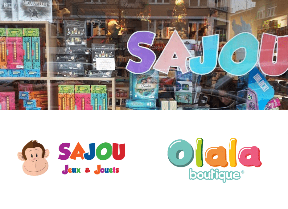 Welcome to Sajou, the new reseller of Olala products from Belgium.